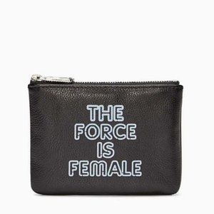 """NWT Rebecca Minkoff """"The Force is Female"""" Pouch!!!"""